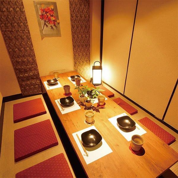 テーブル席・完全個室(壁・扉あり)・2名様~6名様