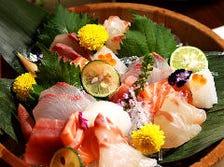産地直送の鮮魚