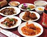 宴会コースは自慢の料理達が並びます!