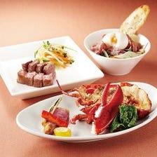 季節の魚介を多様な調理でご提供