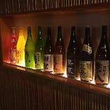 焼酎、日本酒なども多数取り揃えております。
