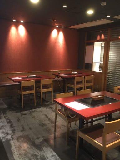 創作鉄板 mo-ri OAP店 店内の画像