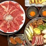 鴨肉、鴨鍋料理