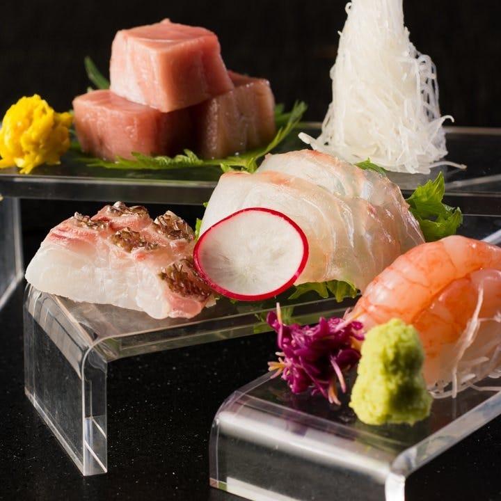 ■市場直送の朝締め鮮魚は新鮮です!