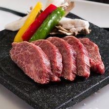 ■村上牛の石焼ステーキ