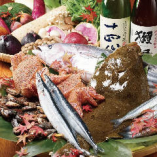 新鮮な魚介類【大阪府】