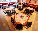 最大110名様までの宴会場としてもご利用可能な空間を完備