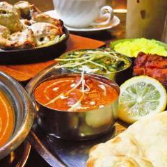 インドカレー タージマハール 梅名店