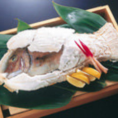 鯛の塩釜焼【要予約】