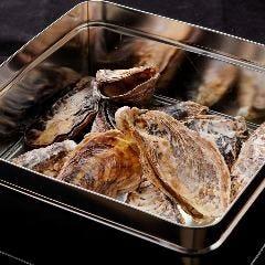 牡蠣のかんかん蒸し