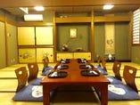 【お座敷席】完全個室!接待や記念日におすすめ◎