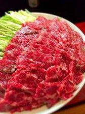 鯨肉を使った料亭の味