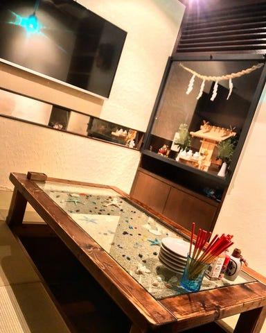 個室 居酒屋 那覇喰港 三軒茶屋 店内の画像