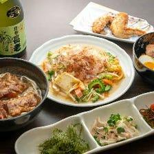 ◆こだわりの沖縄料理を堪能♪