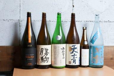 日本酒バル Sui(スイ) 新丸子  こだわりの画像