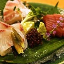 ◆瀬戸内海の鮮魚を味わえる