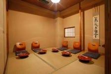 和の設えが温もり溢れる個室