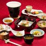 【和会席料理】 旬の食材を贅沢に使用