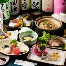 約60種の日本酒三昧コース
