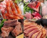 産地直送食材を活かしたお料理がいろいろあります!