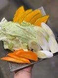 ◎地元・大中産 焼き野菜付き