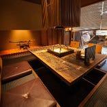 <本館一階>2~6名様 VIP掘りごたつ室。