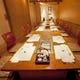 2階の掘りごたつ席個室は最大22名様までご着席可能