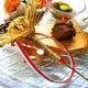 結納・お顔合わせなどには伊勢海老や鯛を使ったお料理をご用意