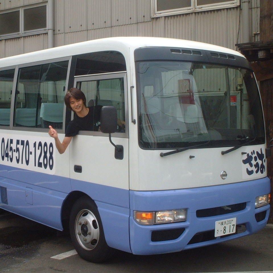 大人数での移動もラクラク♪マイクロバスで送迎いたします!