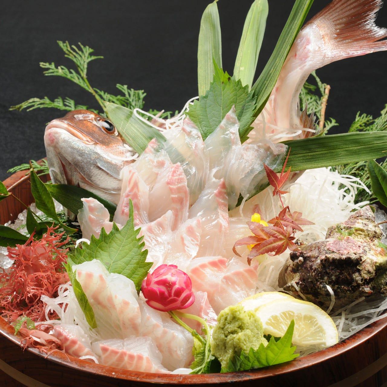 釣ったばかり・調理したての鮮魚