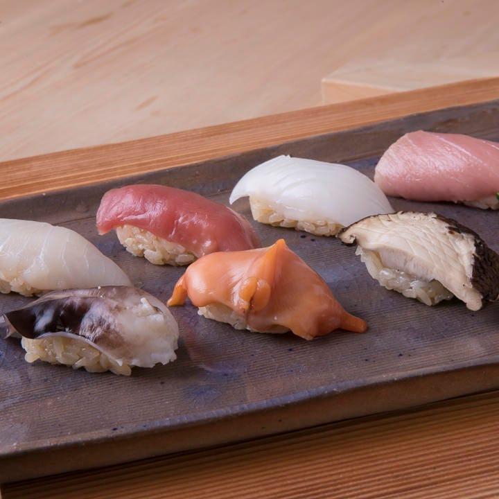 貫 寿司 10 握り寿司