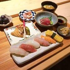 【ぐるなび限定ランチ】 握り寿司セット ※完全予約制
