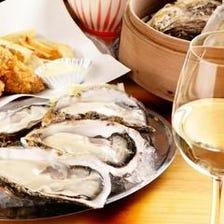 旬の生牡蠣&焼き牡蠣が食べ放題