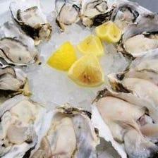 【かき小屋名物】日本全国・旬の生牡蠣
