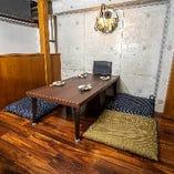 接待や会食、デートや少人数宴会にも最適◎お座敷個室