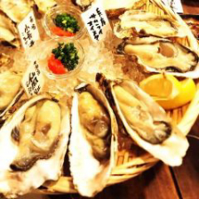 生牡蠣 3種食べ比べ