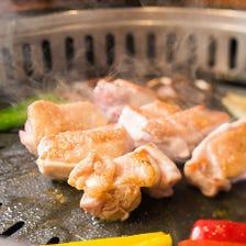 徳島県産阿波尾鶏を提供。