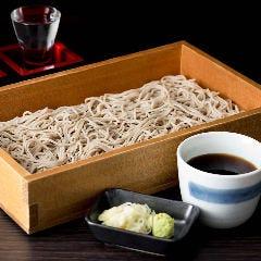 北海道産石臼挽生蕎麦