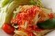 オーダーされてから作る青パパイヤのサラダは辛くて食感も最高♪