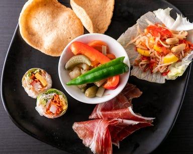肉&ワイン アジアンダイニングバル SAPANA 水道橋駅西口店 コースの画像