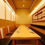 居心地の良い空間でお食事を楽しんで下さい。