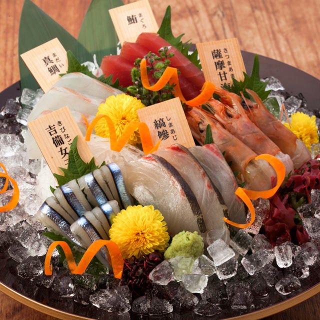旬の素材にこだわった鮮魚
