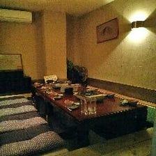 ◆各種宴会用個室完備◆