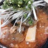 辛口牛スジ肉の煮込み
