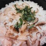 旬の松茸釜炊きご飯