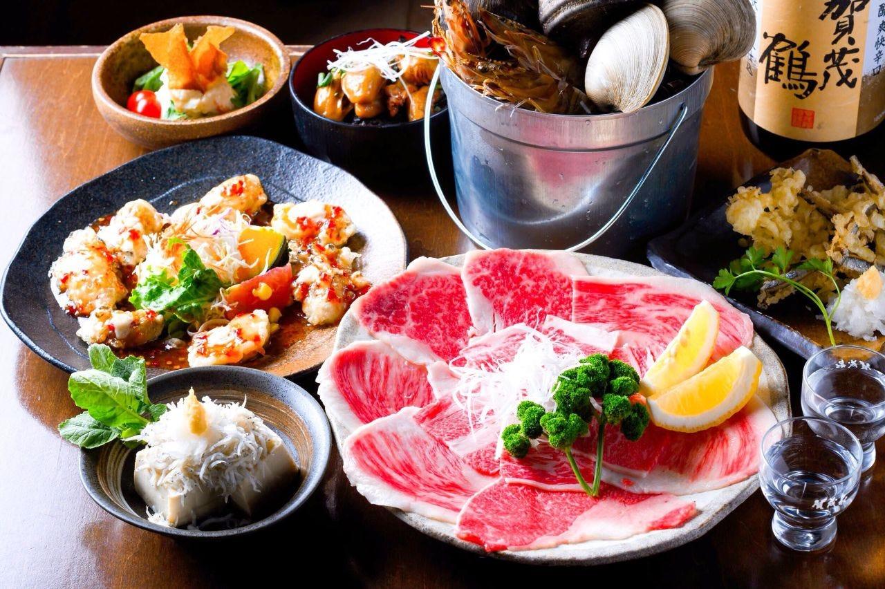 【2時間飲み放題付】広島食材満載コース 4000円(9品)