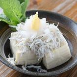 釜あげしらす豆腐