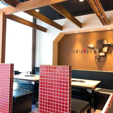 東京焼肉 平城苑 ダイバーシティ東京プラザ店 店内の画像