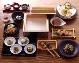 【おまかせコース】  当店の豆腐料理を御堪能下さい。