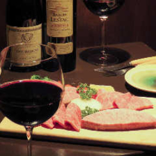 神戸牛&ワインのマリアージュ
